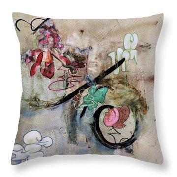 The Elitist Throw Pillow by Antonio Ortiz
