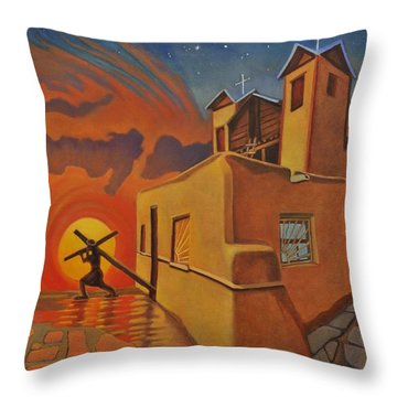 The Emancipation Of Christ Throw Pillow
