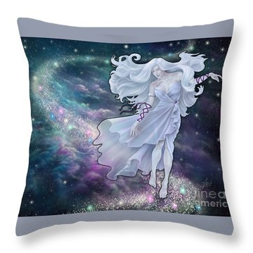 The Emancipation Of Galatea Throw Pillow by Amyla Silverflame