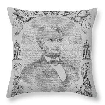 The Emancipation Proclamation Throw Pillow
