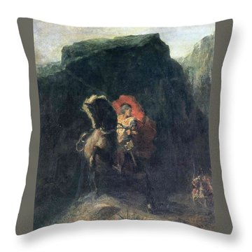 Charlemagne Throw Pillows Fine Art America Interesting Fairon Decorative Throw Pillow