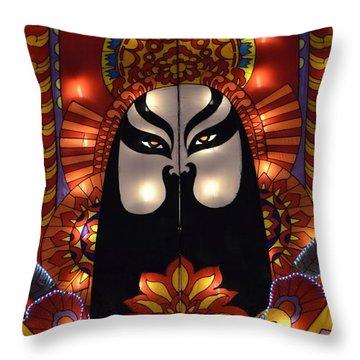 The Emperor Throw Pillow
