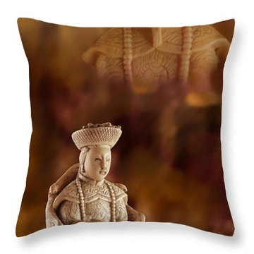 The Emperor's Wife Throw Pillow