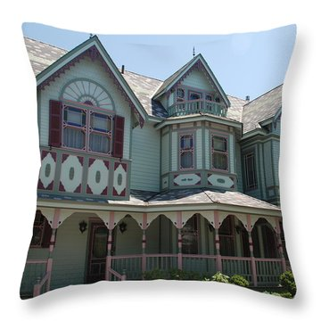 Throw Pillow featuring the photograph The Empress by Richard Bryce and Family