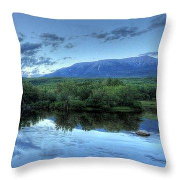 Baxter State Park Throw Pillows