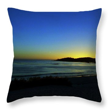 The End Throw Pillow