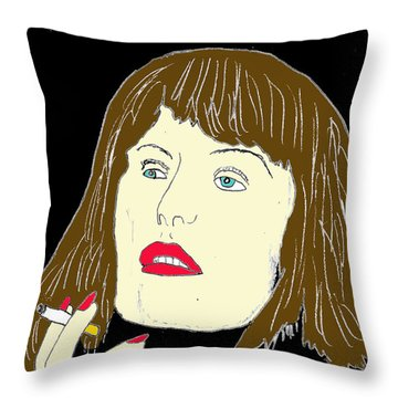 The End Of A Long Day Throw Pillow