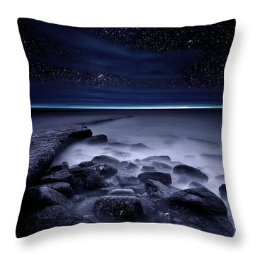 The End Of Darkness Throw Pillow