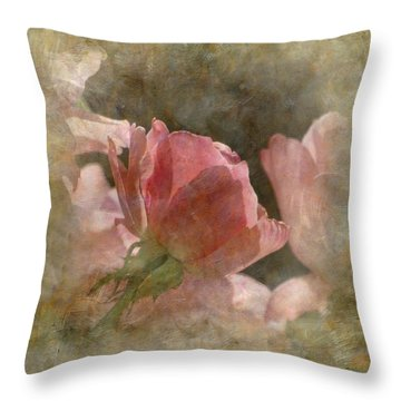 Throw Pillow featuring the photograph The End Of Summer by Angie Vogel