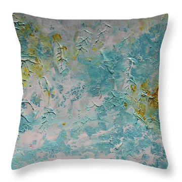 The End Of The Summertime Throw Pillow