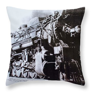 The Engine  Throw Pillow