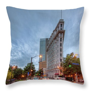 The English--american Building. Atlanta Throw Pillow