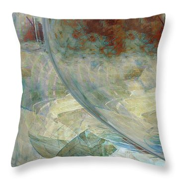 The Enigma Throw Pillow