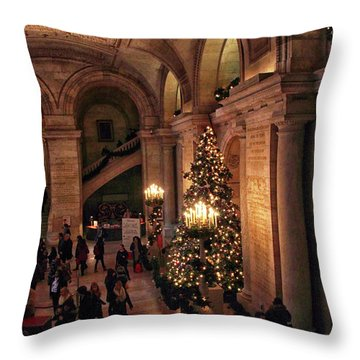 Throw Pillow featuring the photograph A Golden Entrance by Jessica Jenney
