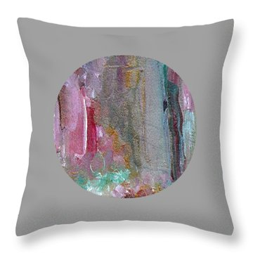 Throw Pillow featuring the painting The Entrance by Mary Wolf