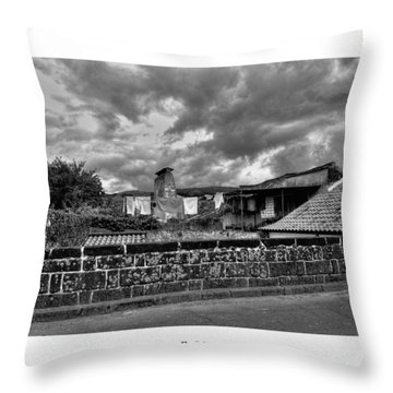 Throw Pillow featuring the photograph The Epic by Joseph Amaral