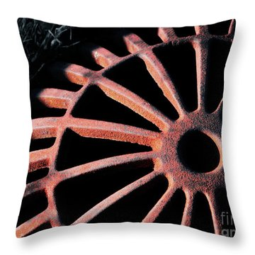The Erosion Of Time Throw Pillow