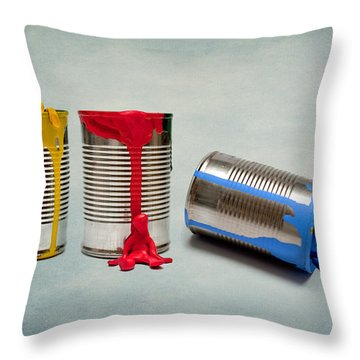 Painted Throw Pillows