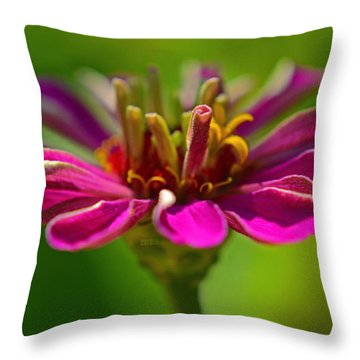 The Esteemed Flower Throw Pillow