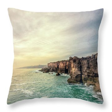 The Eternal Song Of The Ocean Throw Pillow