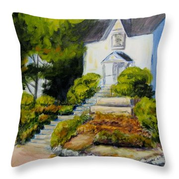 The Eureka Heritage Society Throw Pillow