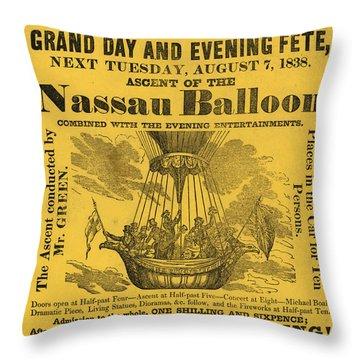 The Evening Fete Throw Pillow
