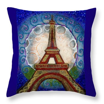The Evening Of A Ready-wish Upon A Parisian High Point Throw Pillow