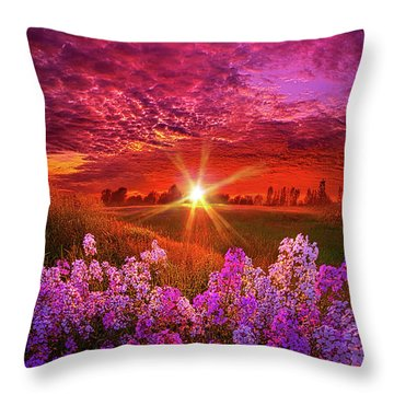 The Everlasting Throw Pillow