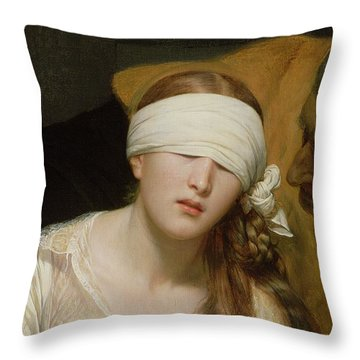 The Execution Of Lady Jane Grey Throw Pillow
