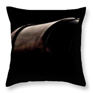The Exhaust Throw Pillow by Paul Job