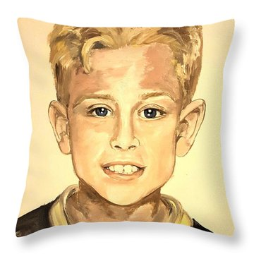 The Extrovert Throw Pillow