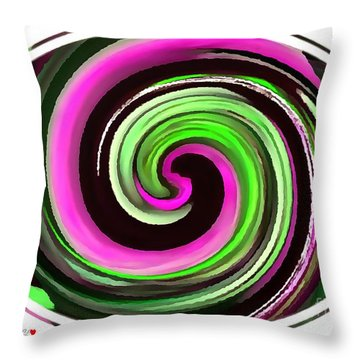 The Eye Throw Pillow by Catherine Lott