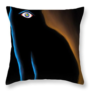 The Eye Have It Throw Pillow