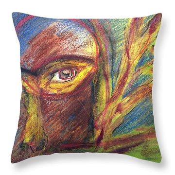 The Eye Throw Pillow