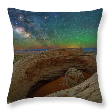 The Eye Of Earth Throw Pillow