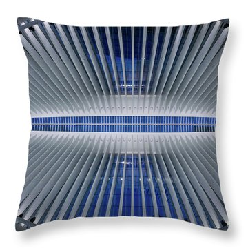 Throw Pillow featuring the photograph The Eye Of Oculus  by Michael Ver Sprill