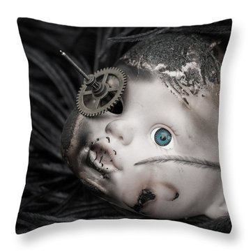 The Eye Of The Beholder Throw Pillow by Chris Johnson-Standley