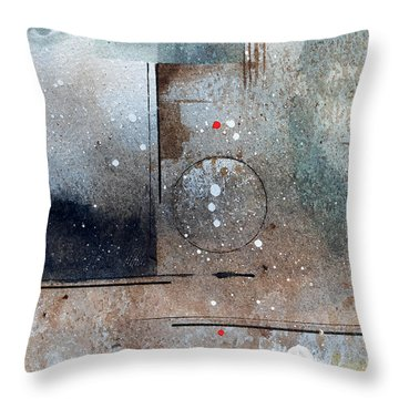 The Eyes Have It Throw Pillow by Monte Toon