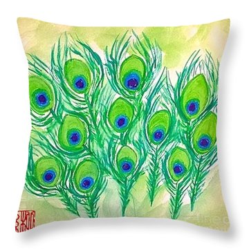 The Eyes Of The Stars Throw Pillow