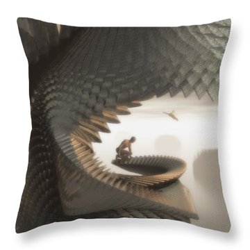 The Eyrie Throw Pillow