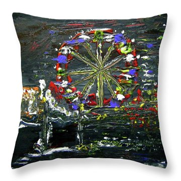 The Fair Throw Pillow
