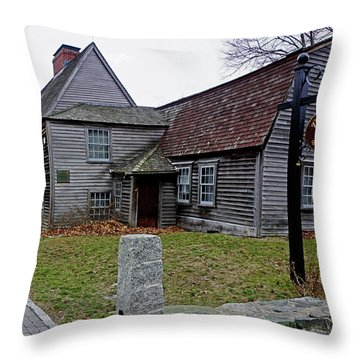 The Fairbanks House Throw Pillow