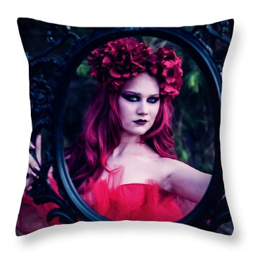 Throw Pillow featuring the photograph The Fairest Of Them All by Ryan Smith