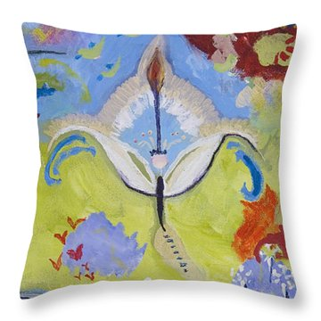 The Fairy Queen Throw Pillow