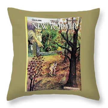 New Yorker October 3rd, 1994 Throw Pillow