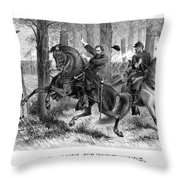 The Fall Of Reynolds - Civil War Throw Pillow