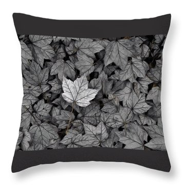 Throw Pillow featuring the photograph The Fallen by Mark Fuller