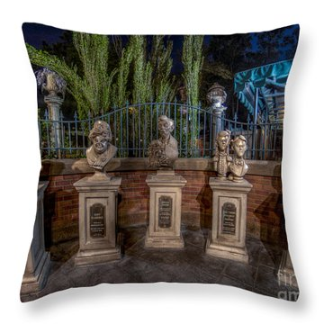 The Family Is All Here. Throw Pillow