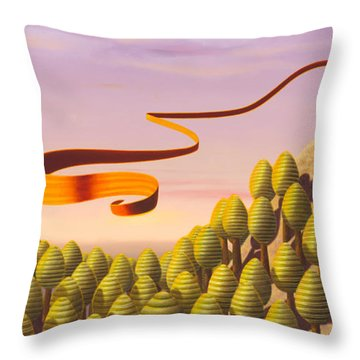 The Famous One Throw Pillow