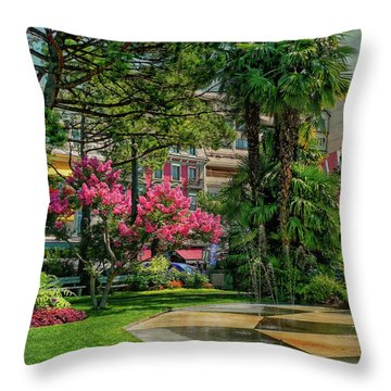 Throw Pillow featuring the photograph The Fancy Swiss South-west by Hanny Heim